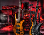 Drums + Guitars