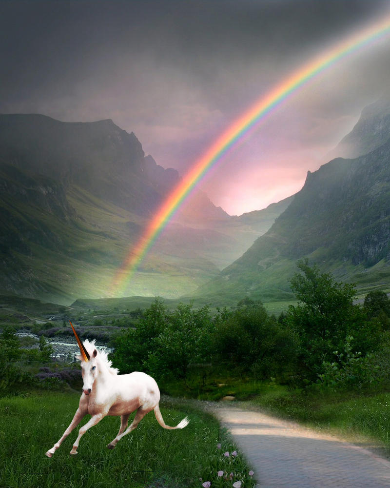 Rainbows and Unicorns, oh my by sanneb on DeviantArt