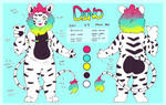 Dino Reference sheet by indorak