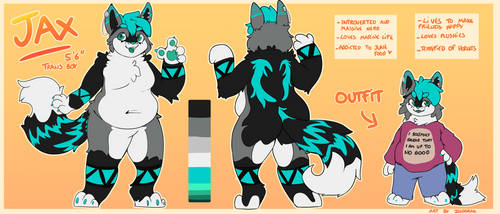 (COMM) Jax reference sheet by indorak
