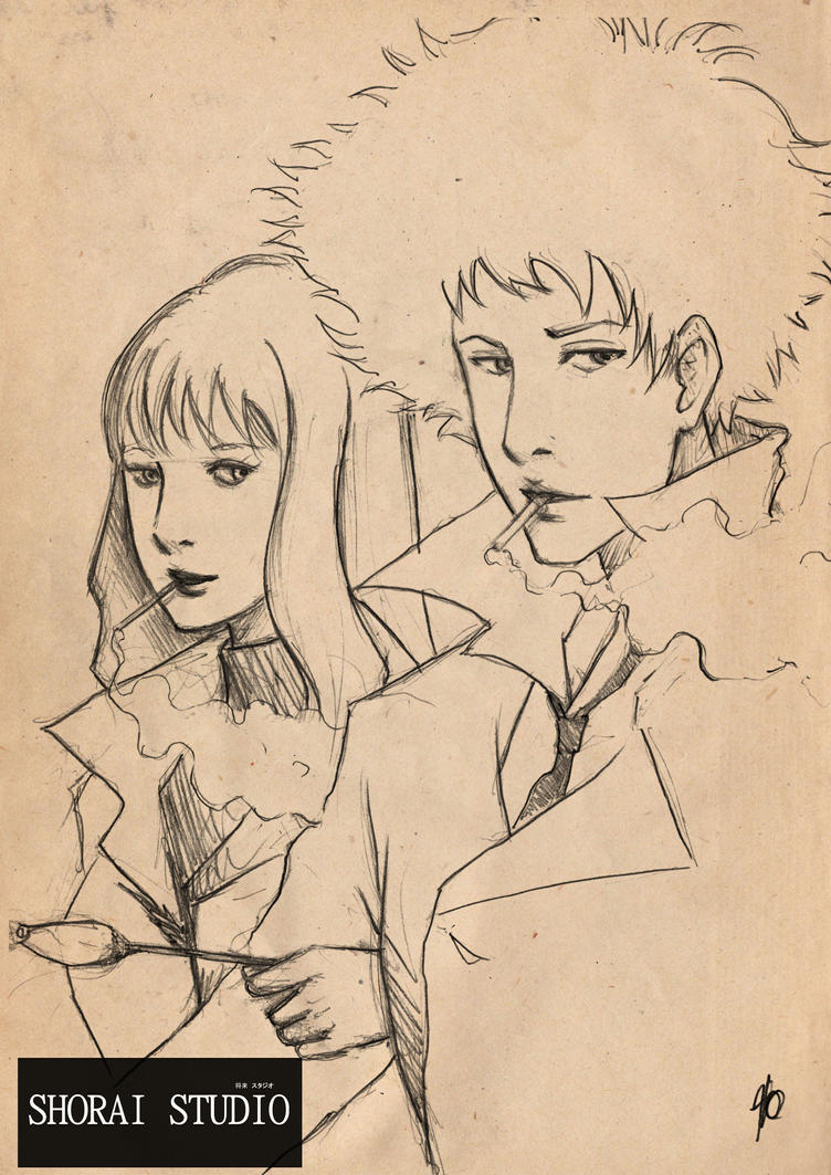 Julia y Spike by Quillstudio