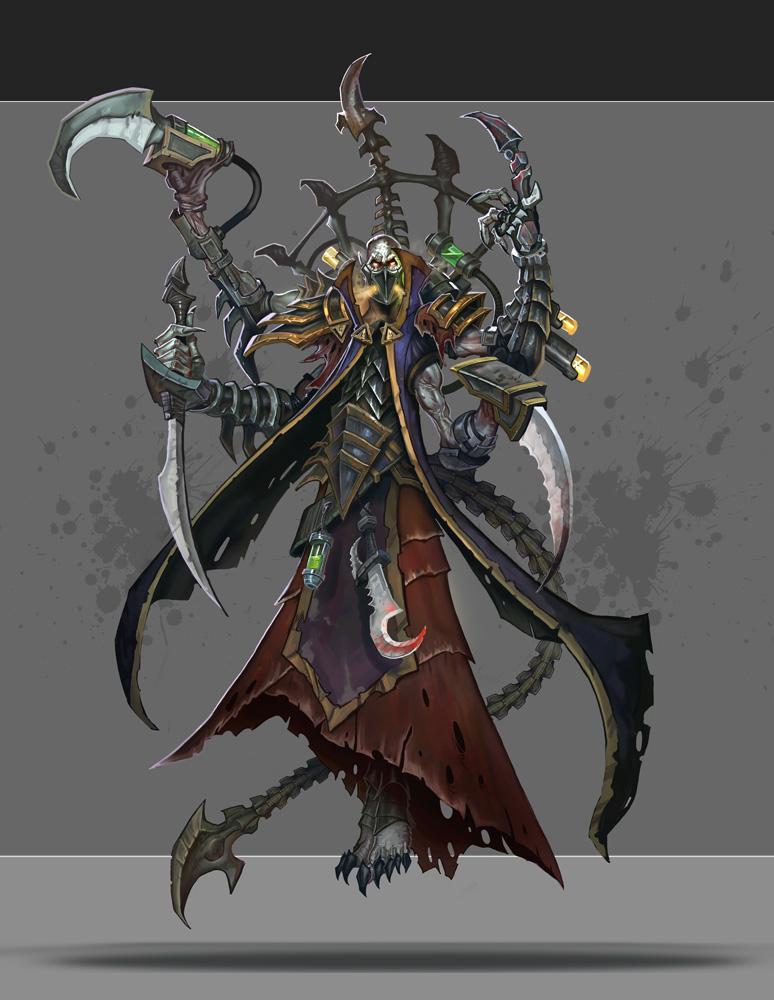 Dark Eldar Haemonculus by Rayph