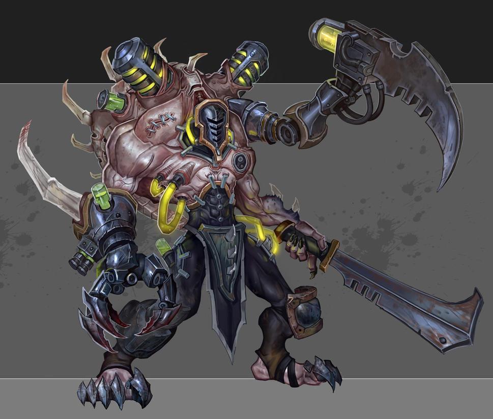 Dark Eldar Grotesque by Rayph