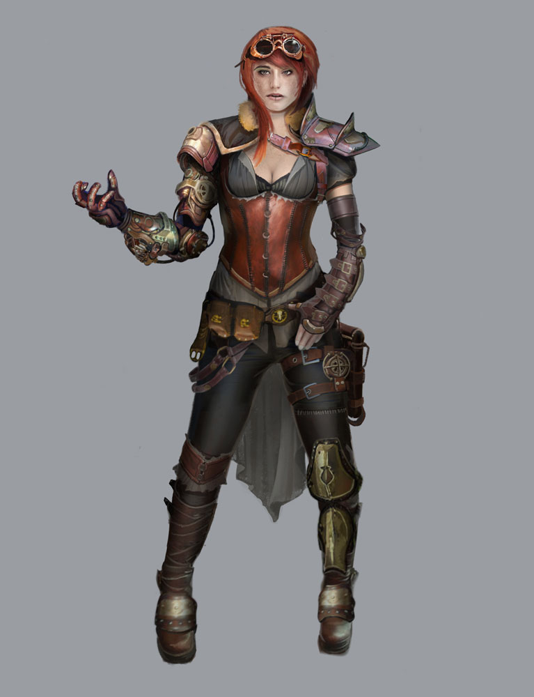 Steampunk Jane concept 3 by Rayph