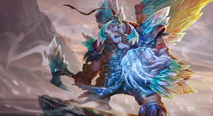 Dota 2 Tusk Ice Dragon armor set