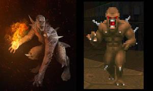 Doom Imp redux by Rayph
