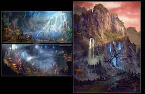 Elder Scrolls online concept art by Rayph