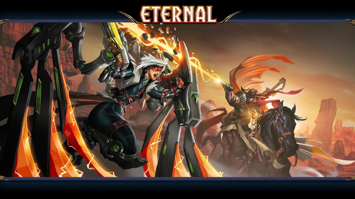 Eternal Gauntlet Wallpaper by Rayph