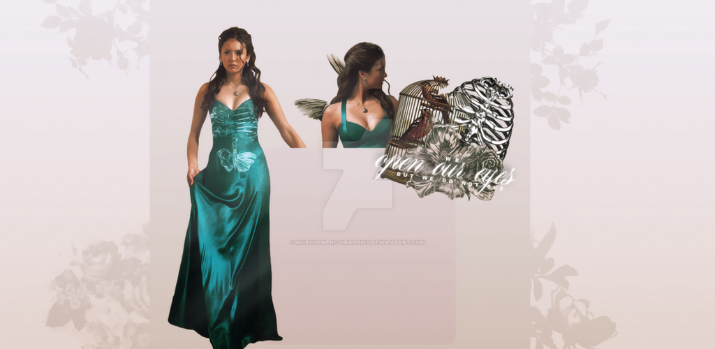 Tumblr Background for theme - Nina Dobrev by morosemerc-graphics on