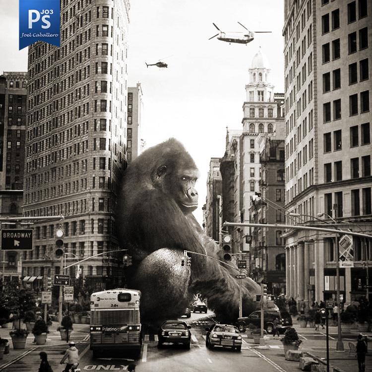 El Rey Kong by Jo3Low-Design