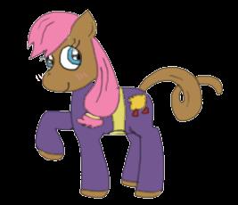 Tilla Spidermonkey in My Little Pony by dlaney966