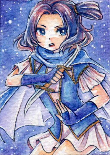 Blue Dagger by vine-gar