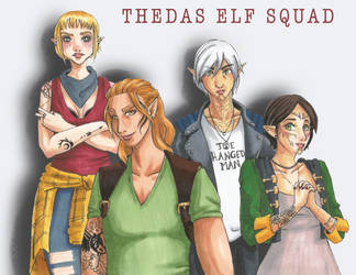 Thedas Elf Squad