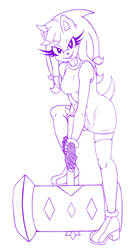 Sketch Commission: MindiShadikku by XxAibyokaxX
