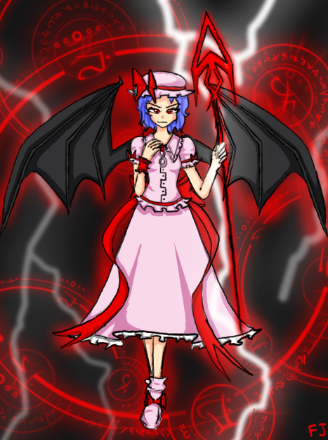 Remilia Scarlet by BlazetheCat55