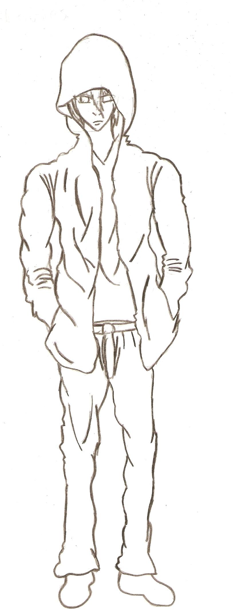 how to draw manga male