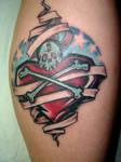 finished ak3 tattoo