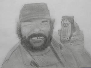 Drawing - Bud Spencer