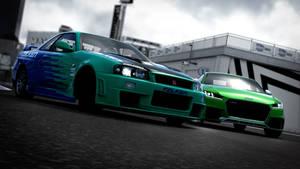 The Crew 2 - Nissan vs Audi