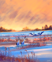 crane song by Mothka