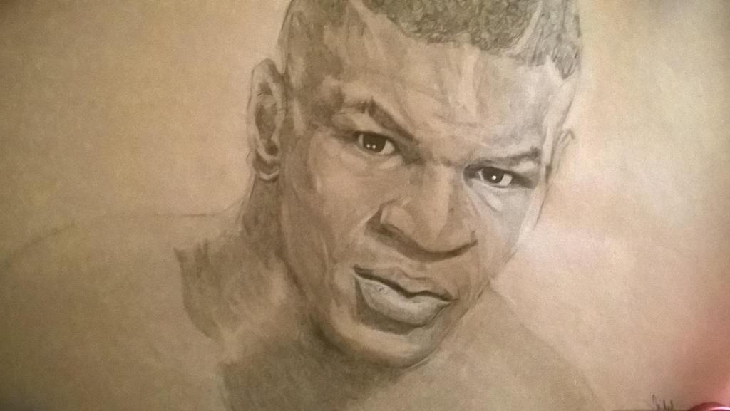 Mike Tyson Sketch by riberma by riberma