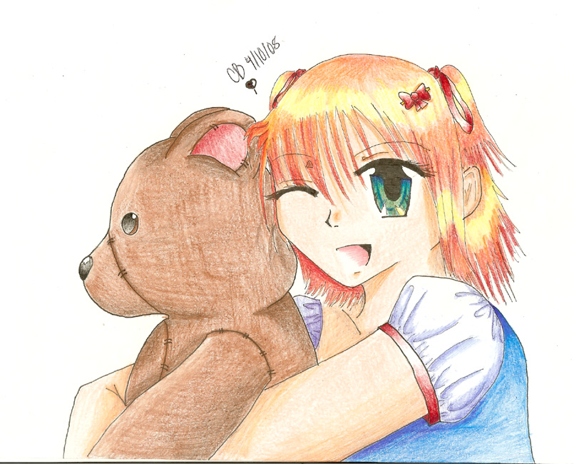 Teddy Hug by Sinya-Chan on deviantART