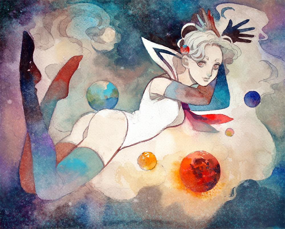 Planet Girl by laziesheaven