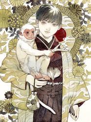 2016 Monkey Year by kaizbow