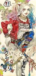 Harley Quinn by kaizbow