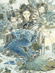 Oiran Mermaid