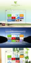 Navigation page 's Widget for Chrome