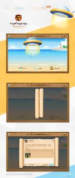 GUI Desing-Weibo Drift bottle
