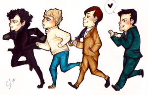 Follow the leader - Sherlock by CurlyLada