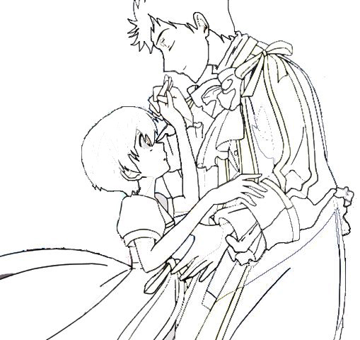 ouran highschool coloring pages - photo#40