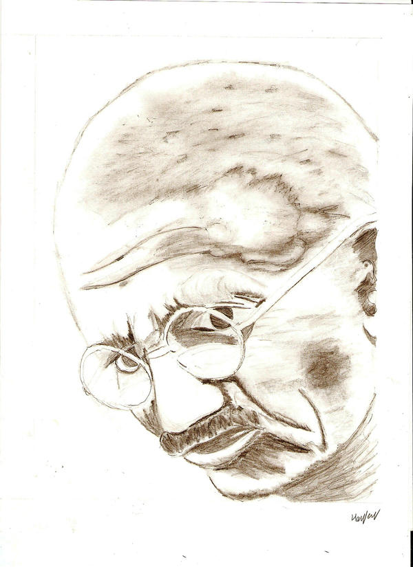 GANDHI by 666bloodyhell666