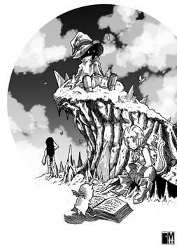 Resting time -Final Fantasy 9 fan art