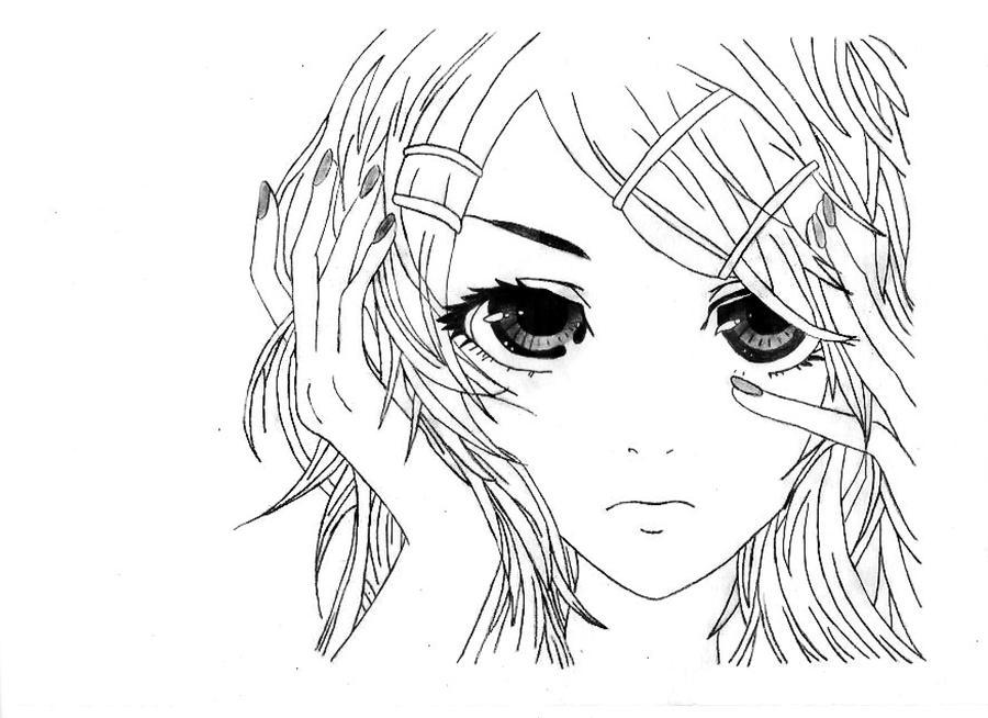 Rin Kagamine by MsLiuvar