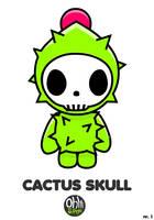 OHS: Cactus Skull by Yo-Bonewire-Boy