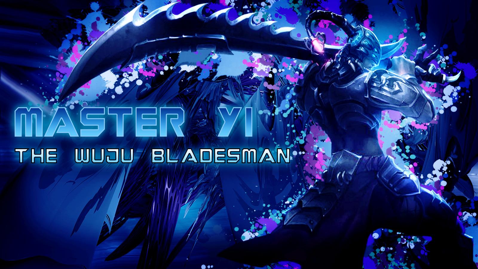 FlamingDoesGFX Master Yi The Wuju Bladesman By