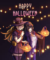 Happy Halloween~ by limach-an