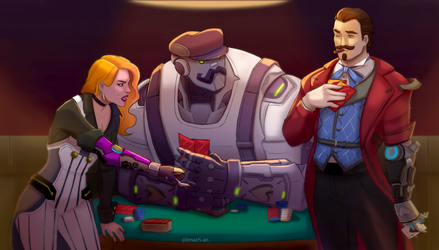 Poker by limach-an