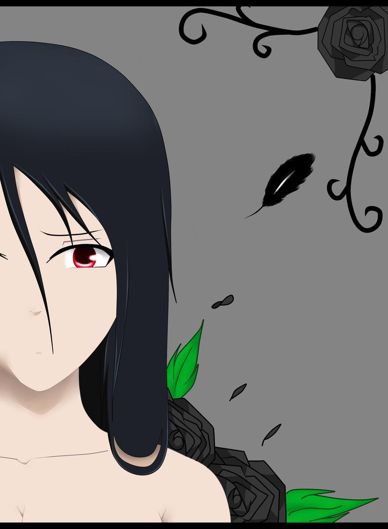 The Black Rose, Ezerrah by SakuraAkatsukiUchiha