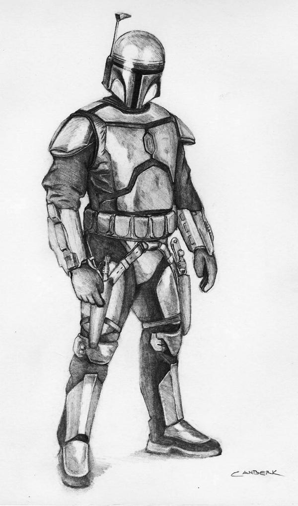 Jango Fett by leatris