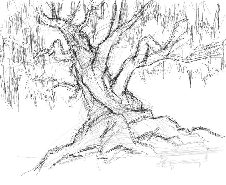 tree sketch by savari07