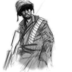 Word War 2 Soldier
