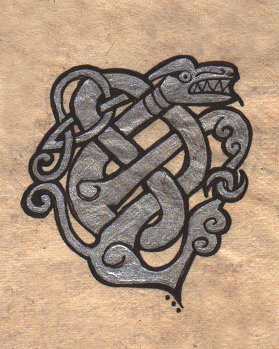 Celtic Dragon Tattoo Designs Picture 7