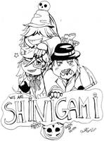 We are shinigami lineart by FuriarossaAndMimma