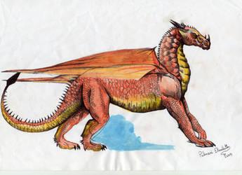 Red dragon 001 by FuriarossaAndMimma