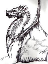 Hantar the dragon by FuriarossaAndMimma