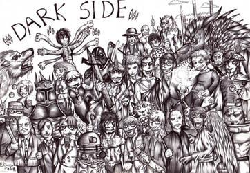 Week 25-Darkside by FuriarossaAndMimma